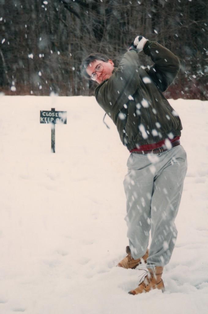 David Owen, Winter 1995, Photo by Jim Paisley