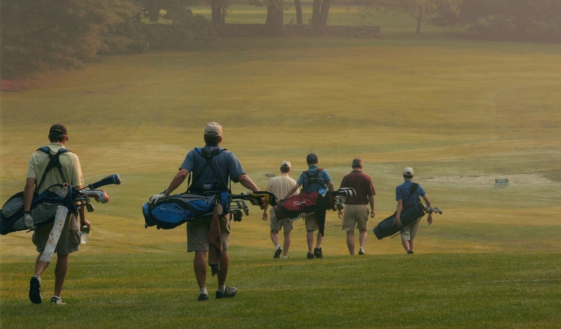 Men's member-guest, 2007. Photo by Carol Underwood.
