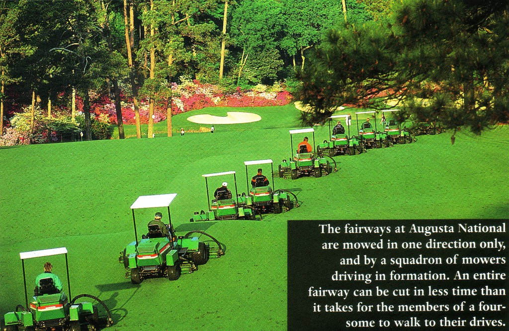 Lawn Care Tips From Augusta National My Usual Game
