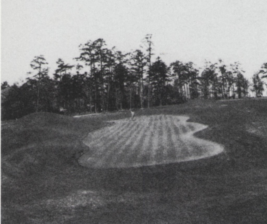 Eighth green, Augusta National, 1930. Photo by Tony Sheehan.