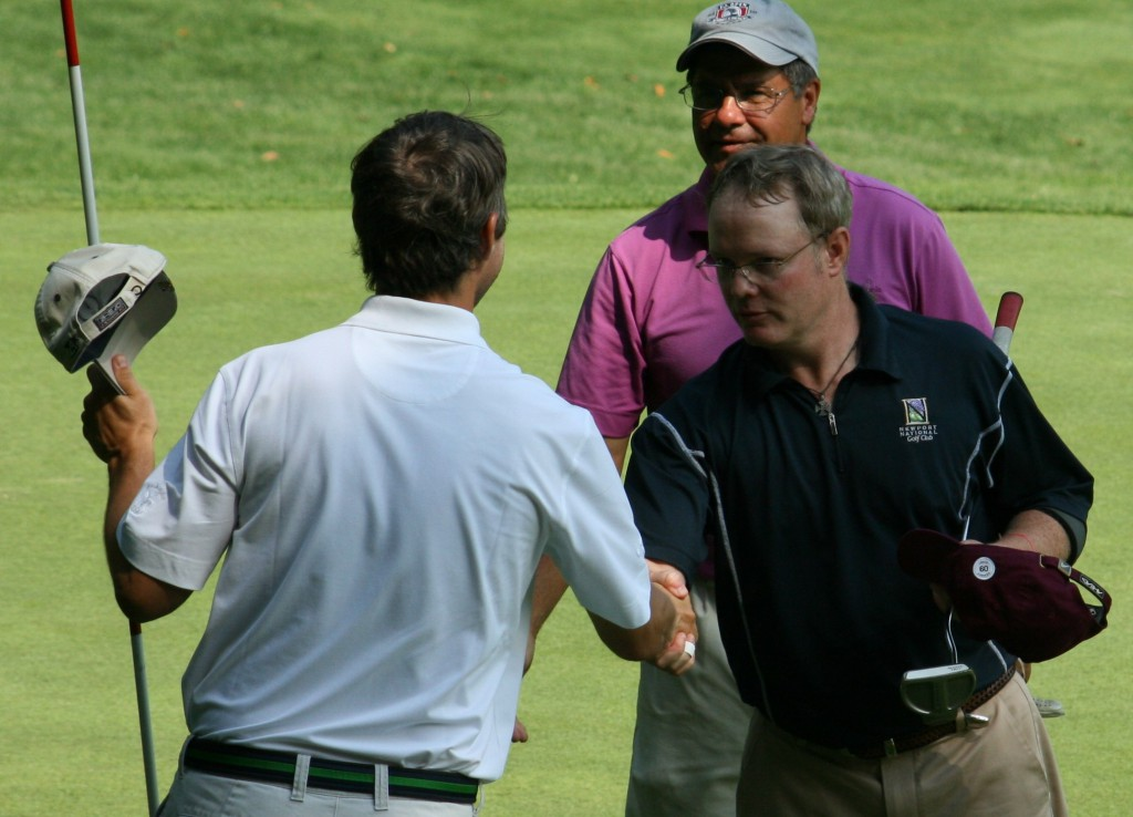 Paul, Matt, Ray, August, 2010.