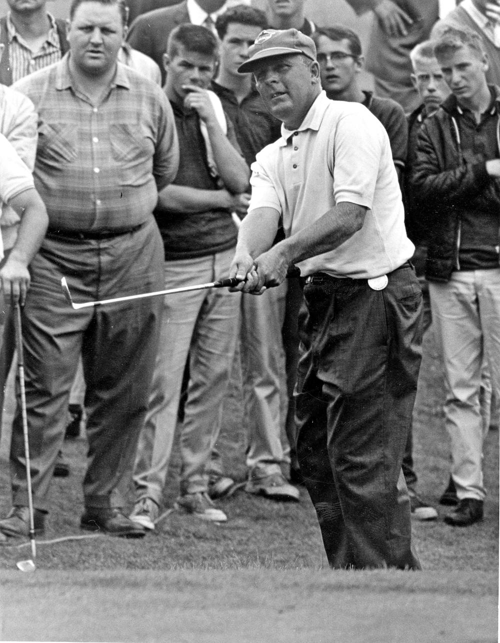 Moe Norman, 1950s.