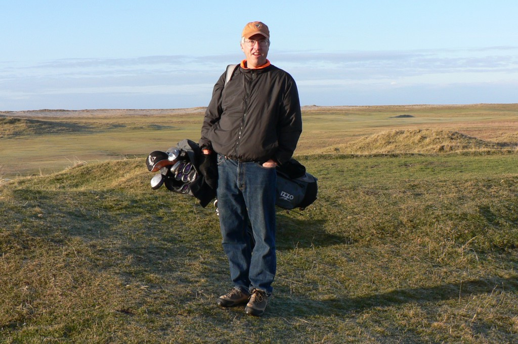 My most recent round at Askernish, December, 2008.