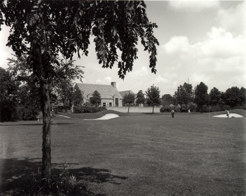 Clubhouse, Dyker Beach Golf Course, 1930s.