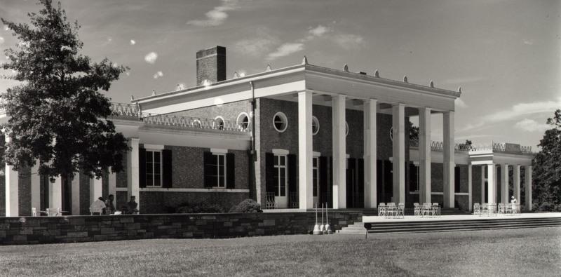 Pelham clubhouse, 1936.